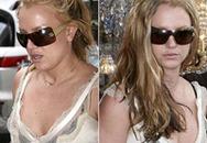 Britney Spears xơ xác