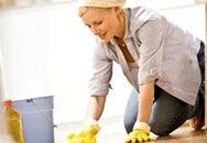 18 bước để lau dọn nhà hiệu quả