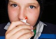 Bạn làm gì khi trẻ bị chảy máu mũi