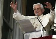 Bush long trọng tiếp đón Giáo hoàng Benedict