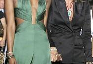Phu nhân của Roberto Cavalli tụt váy tại Cannes