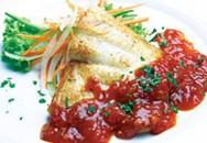 Cá lóc phi lê xốt cà chua