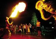 Chùm ảnh: Xem múa kỳ lân ở đất Cảng