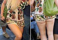Britney Spears khoe đùi với váy ngắn