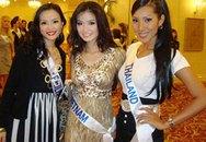 Chùm ảnh: Người đẹp Hoa hậu quốc tế 2008 khoe sắc