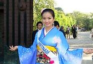 Cao Thùy Dương duyên dáng với kimono
