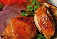 Món ngon cuối tuần: Đùi gà rim nước dừa