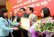 Trao giải cuộc thi viết về văn hoá người Hà Nội