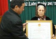 Bà Lê Thị Nga đã được nhận Huy chương kháng chiến