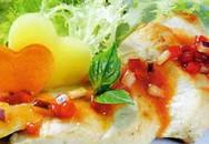 Món ngon cuối tuần: Ức gà nướng sốt ớt