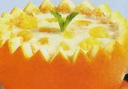 Học làm bánh: Bánh flan cam