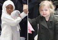 Angelina Jolie 'trốn' Brad Pitt đưa con đi shopping