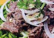 Thực đơn bữa tối: Thiên lý xào trứng và thịt bò