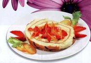 Học làm bánh: Bánh bông lan cuốn mứt trái cây