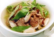 Thực đơn bữa tối: Canh thịt bò nấm hương