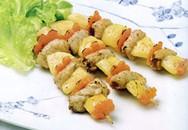 Thực đơn bữa tối: Thịt heo nướng thơm