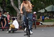 Thú chơi BMX của teen Sài thành