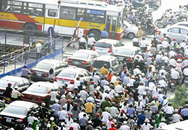 Lệnh cấm mới trên một số tuyến đường ở Hà Nội