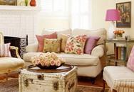 Màu sắc trong nhà và tâm trạng chủ nhân