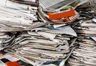 Tác dụng không ngờ của giấy báo cũ