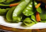 Món ngon: Đậu Hà Lan xào đậu hũ