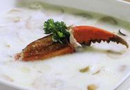 Món ăn nhẹ: Súp nấm thịt cua sữa tươi