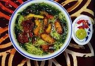 Hương vị quê nhà: Bánh đa cá Quỳnh Côi