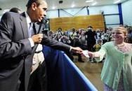 Obama viết giấy cho học sinh nghỉ học