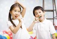 Trẻ dưới 3 tuổi không nên dùng kem đánh răng