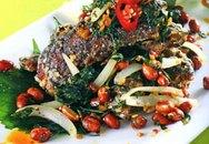Món ngon cuối tuần: Lươn chiên lá tía tô