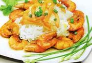 Món ngon hàng ngày: Bún trộn tôm rim dừa