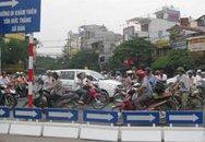 """""""Đề án phân luồng giao thông Hà Nội"""": Lúng túng tại các điểm giao cắt đặc thù"""