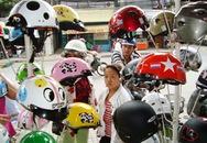 """Mũ bảo hiểm cho trẻ em: Hàng giả """"bóp chết"""" hàng thật"""