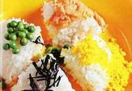 Thực đơn bữa tối: Cơm hải sản tứ sắc