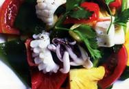 Món ngon hàng ngày: Mực xào dứa