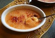 Món tráng miệng: Caramen khoai lang
