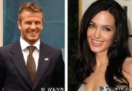 "Angelina Jolie bị David Beckham ""từ chối"""