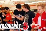 Nhóm nhạc Frequency 5 hát tại Gala Bài hát Việt