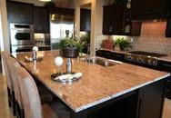Bắt mắt bàn đá granit cho phòng bếp