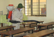 Khử trùng toàn bộ khu vực trường học - ổ cúm Lomonoxop