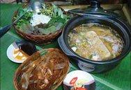 Thực đơn bữa tối: Lẩu cua đồng
