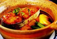 Thực đơn bữa tối: Cá bông lau kho vang đỏ