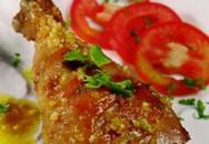 Thực đơn bữa tối: Đùi gà xốt bơ tỏi