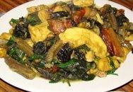 Món ngon cuối tuần: Ốc nấu đậu phụ, chuối xanh