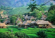 Phong cảnh thung lũng Mai Châu