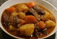 Thực đơn bữa tối: Bò hầm khoai tây