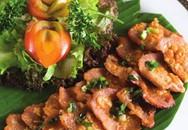 Thực đơn bữa tối: Thăn heo nướng mẻ