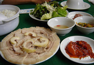 Thực đơn bữa trưa: Thịt lợn luộc