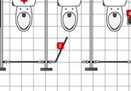 Những vị trí bẩn nhất trong nhà vệ sinh