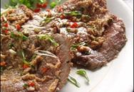 Món ngon cuối tuần: Thịt bò nướng cá ngừ